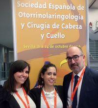 en el Congreso Nacional de la Sociedad Española de Otorrinolaringología y Cirugía de Cabeza y Cuello