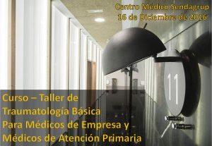 Curso de Traumatologia Básica para Médicos de Atención Primaria y de Empresa - Laboral