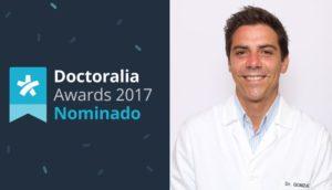 El Dr. González de Sendagrup ha sido Nominado en los Doctoralia Awards 2017 como el otorrinolaringólogo mejor valorado de España