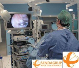 Artroscopia de Rodilla del Dr. Escobar, de la Unidad de Artroscopia del Centro Médico Sendagrup de San Sebastián