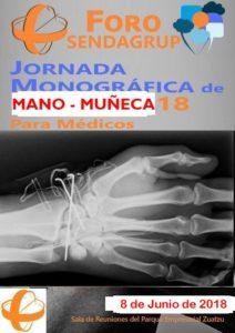 Jornada Monográfica de Mano y Muñeca para Médicos organizada en San Sebastián por el Centro Médico Sendagrup