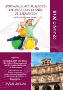 Jornada de Actualización en Ortopedia Infantil de Salamanca, dedicada a la Parálisis Cerebral Infantil, con la participación de la Dra Laura Montes del Centro Médico Sendagrup de San Sebastián