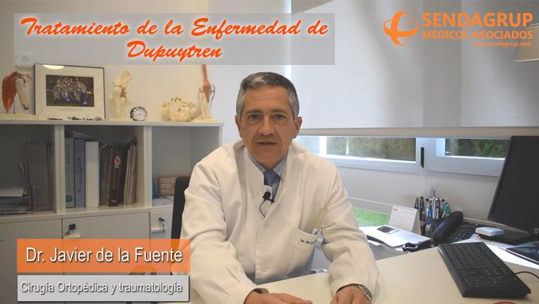 Imagen del video explicativo sobre la enfermedad de dupuytren y tratamiento